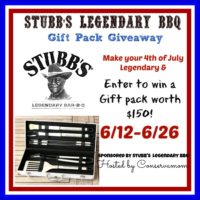 Stubb's Legendary BBQ Gift Pack Giveaway