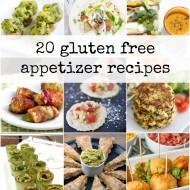 20 Gluten Free Appetizers