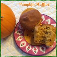 Pumpkin Muffins with Nancy's Organic Cultured Soy Yogurt