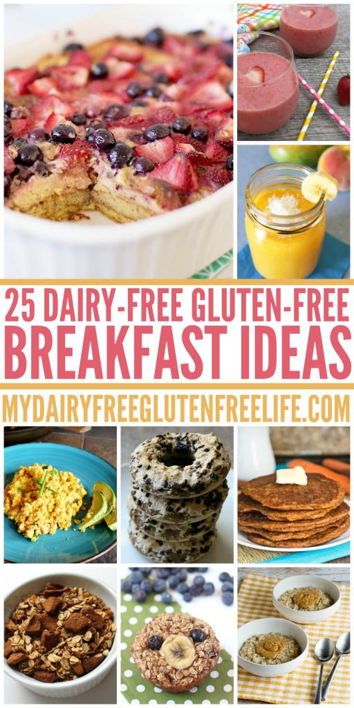 25 Dairy Free Gluten Free Breakfast Ideas