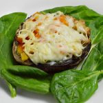 These stuffed Portabello mushrooms will make the perfect brunch or appetizer for you or a group of people.