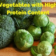 5 Vegetables with High Protein Content