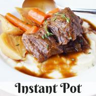 Instant Pot Short Ribs