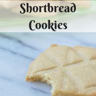 Shortbread Cookies, Vegan and Glutenfree