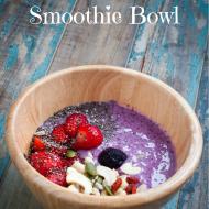 Blueberry Flax Smoothie Bowl Recipe