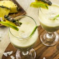 Pina Colada Smoothie, Dairy & Gluten Free, Paleo