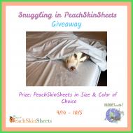 PeachSkinSheets Giveaway