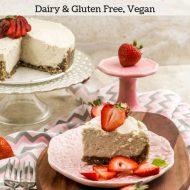 No-Bake Coconut Cheesecake – Dairy & Gluten Free, Vegan