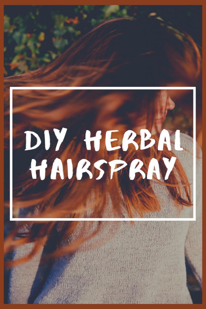 DIY Essential Oil Herbal Hair Spray