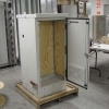 Light Gray Powder Coated Power Cabinet