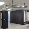 Rack Cabinets With Suspended Cable Racks