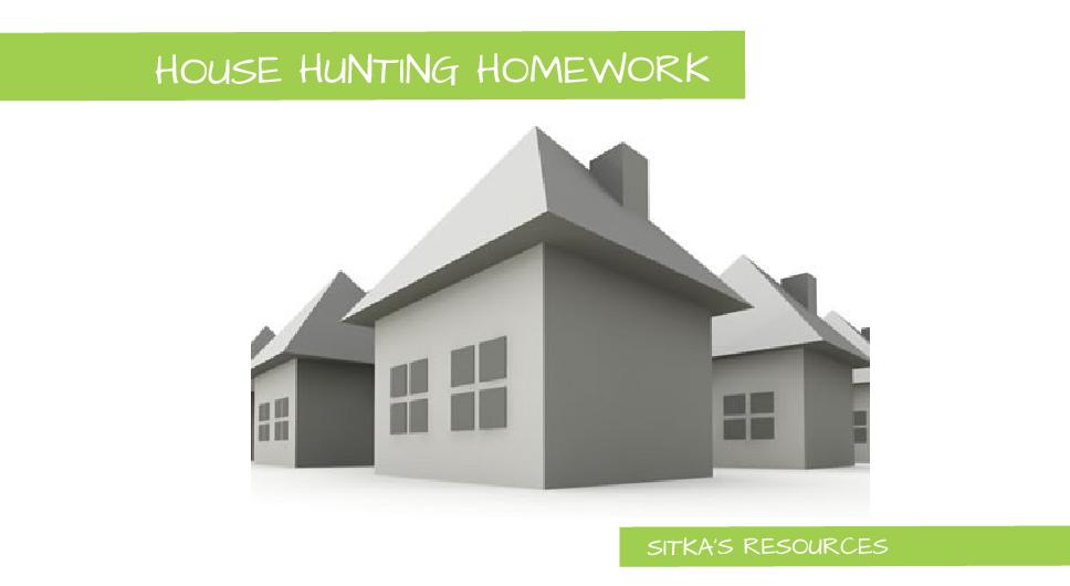 House Hunting – Do Your Homework