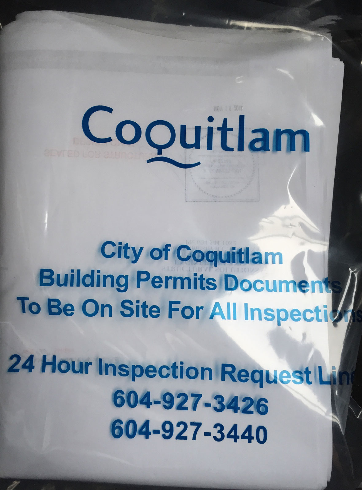 Building Permit in Hand!