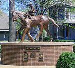 Secretariat Statue at the Kentucky Horse Park