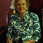 Penny Chenery at the 2015 Kentucky Derby. Photo by Kentucky Derby Tours