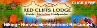Beautiful Red Cliffs Lodge on the Colorado River