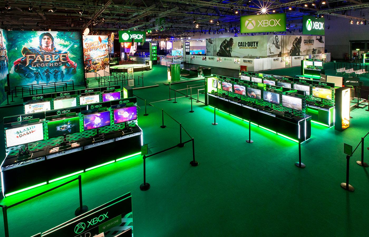 Gamescom Xbox Booth 2017