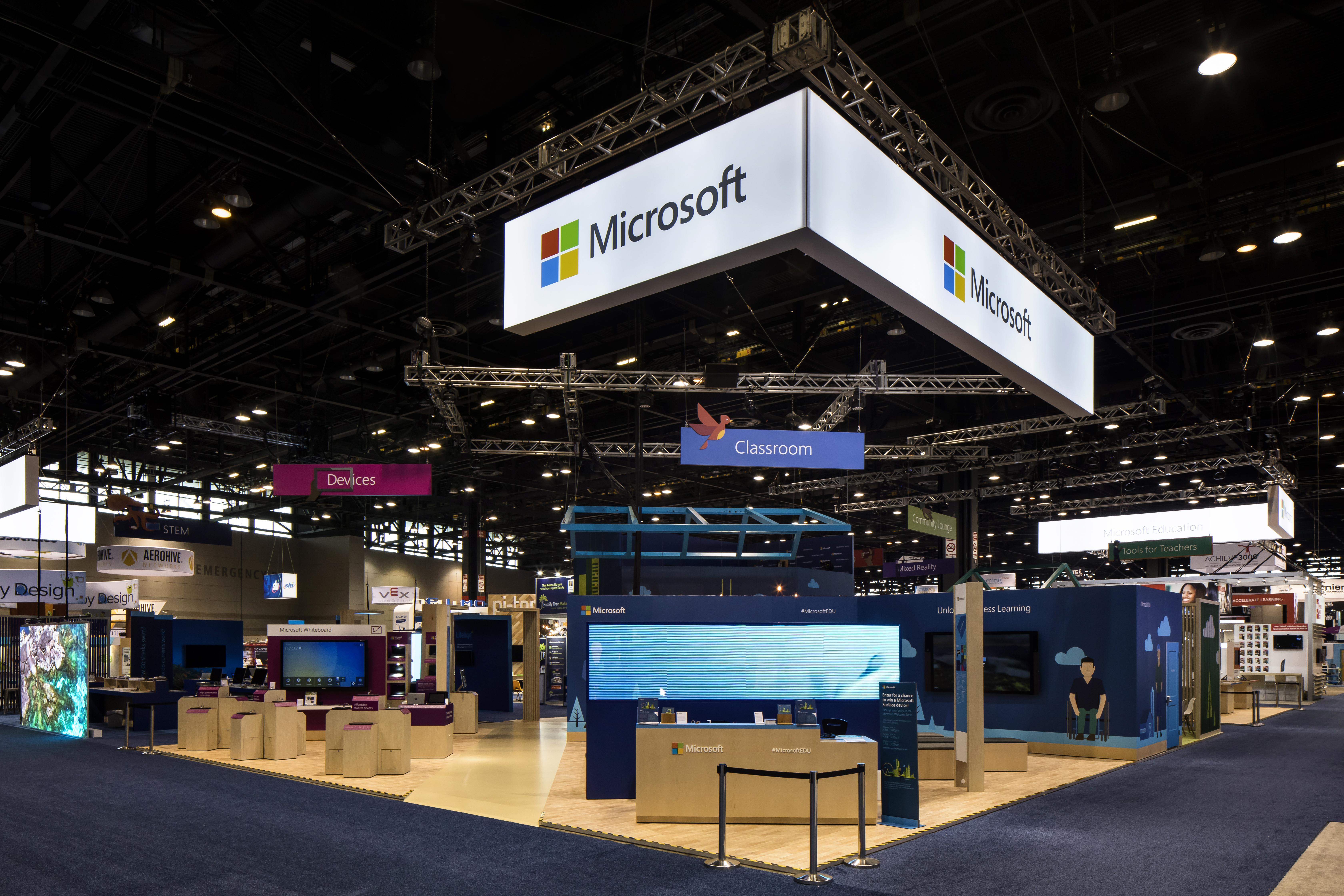 Microsoft ISTE 2018 (International Society for Technology in Education)
