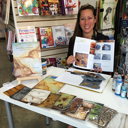 Windmore Golden Artist Demo Amy Shawley