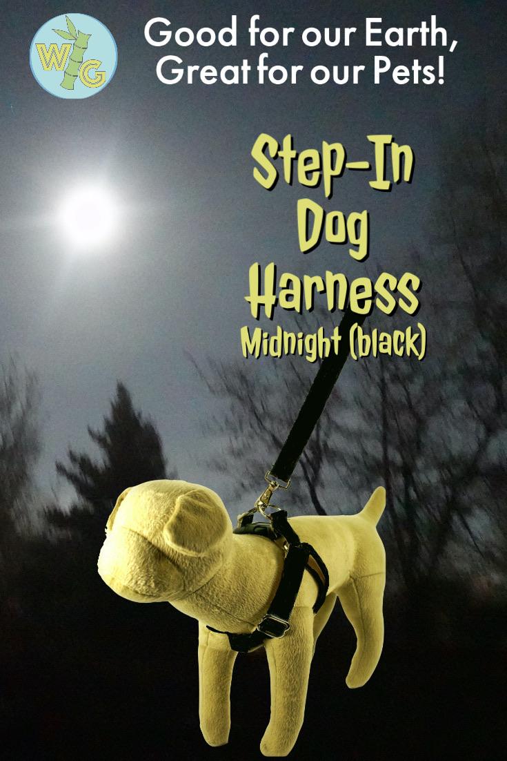 Step in Dog Harness - Midnight Black