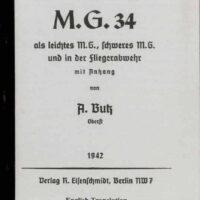 Butz Manual Mg34