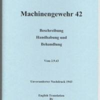 MG-42 Operators Manual D166/1