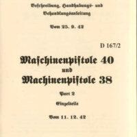 MP38/40 Operators Manuals