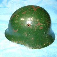 Bulgarian WW2 steel helmet