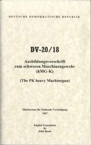 PK Operators Manual DV-20/18