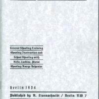 Schmitt Shooting Instruction