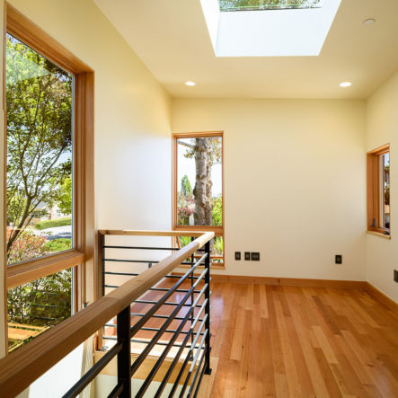 woodrow bright skylights in stairwell