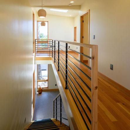 woodrow hardwood floors and hallway