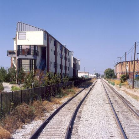 market house lofts by railroad tracks