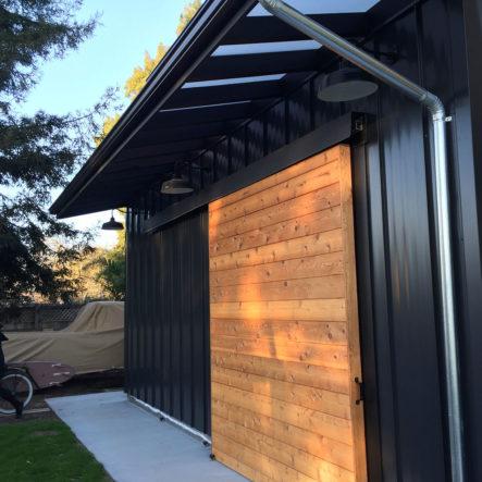 monterey ave garage door sliding