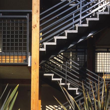 west park stairway