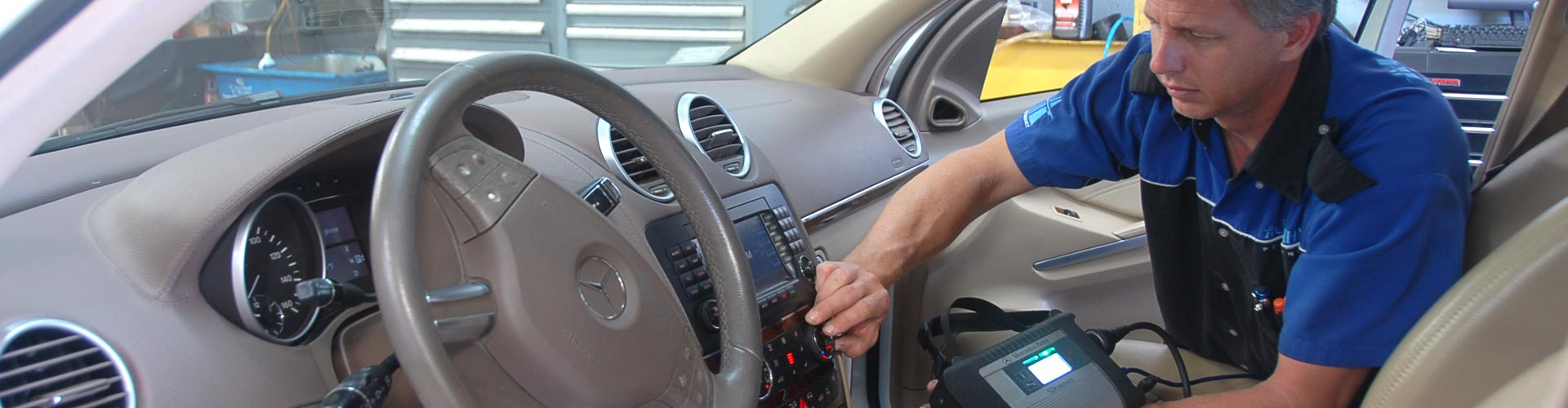 Mercedes Air Conditioning Service