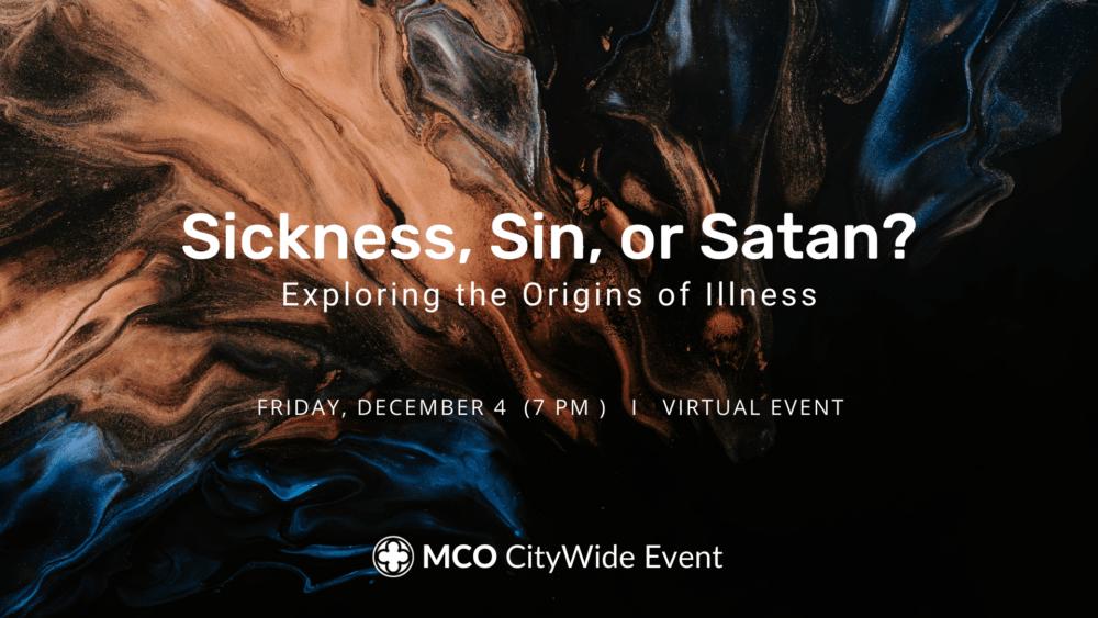 Sickness, Sin, or Satan? Image