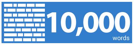 10000 words