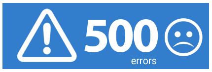 500 errors