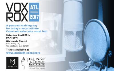 VoxRox ATL 2017 Event Announcement