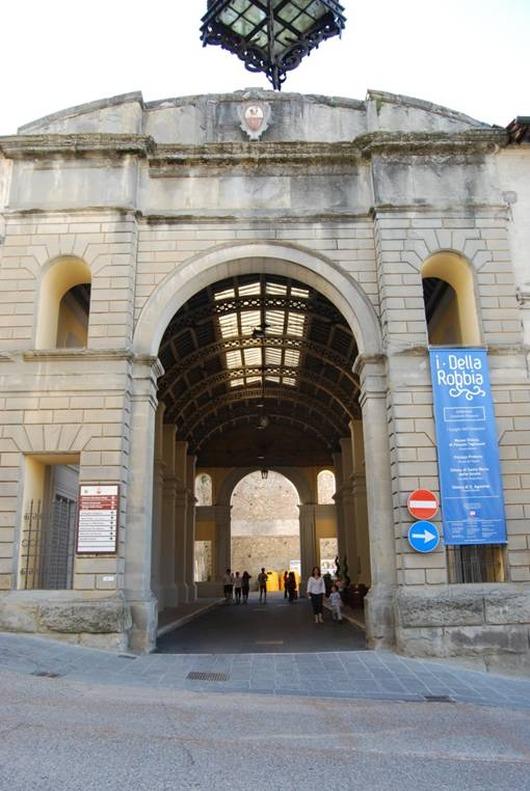 overdekte gallerij Girolamo Magi
