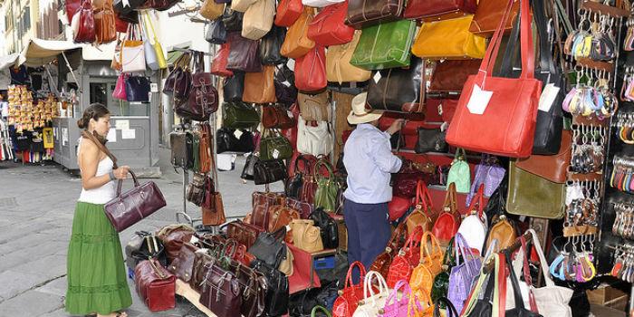 Firenze-mercato di San Lorenzo