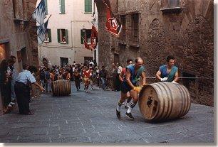 race bravio delle botti Montepulciano
