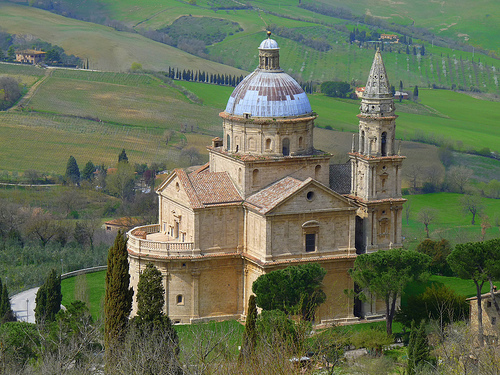 tempel van San Biagio Montepulciano