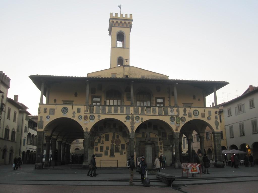 Het 13de eeuwse stadhuis Palazzo d'Arnolfo