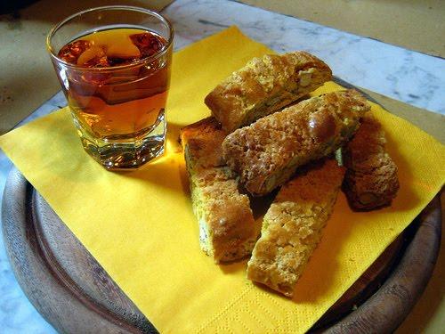 vinsanto en cantuccini koekjes