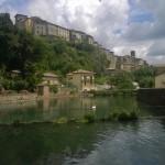 Het pittoreske Santa Fiora op de flanken van Monte Amiata