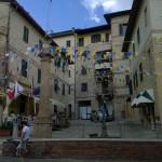 Het Chianti stadje Castelnuovo Berardenga