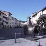 Het kleine Chianti stadje Gaiole in Chianti