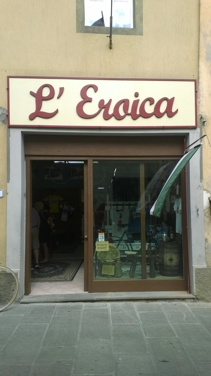 winkel Eroica Gaiole in Chianti